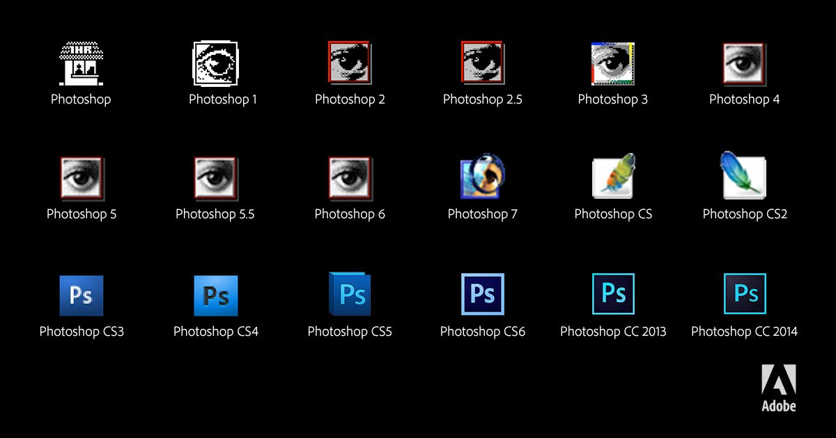 Differences between Photoshop (CS6, CS, CS4, CS5, CC)