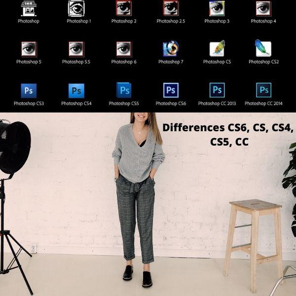 Differences between Photoshop (CS6, CS, CS4, CS5)
