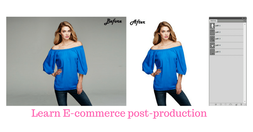 Ecommerce photo editing service