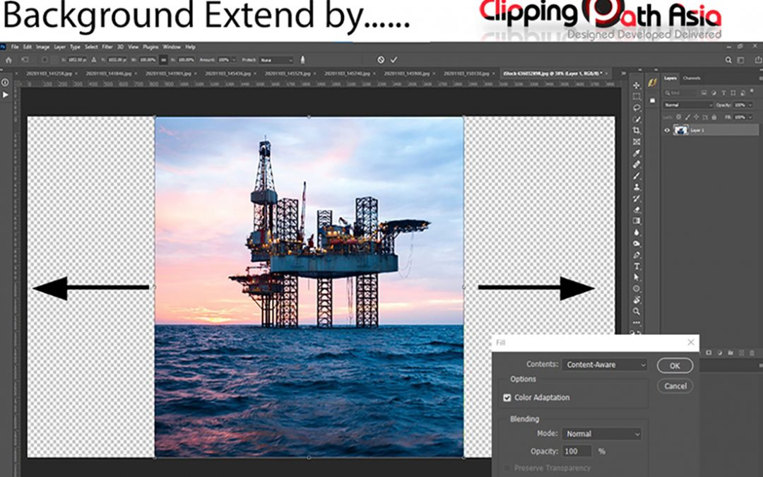 How to Extend background in Photoshop: 2021 Guides