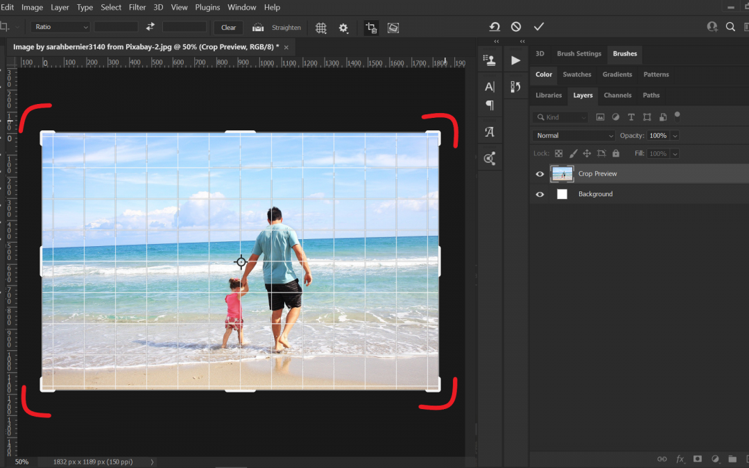 How to straighten an image in Photoshop? 2021 Best Crooked & straighten Guides